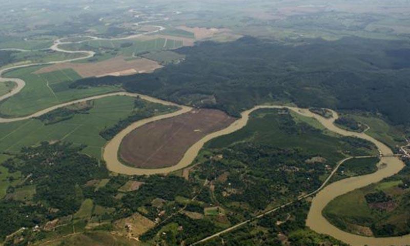 কাউকা নদী: যখন ছিল ভরা যৌবন