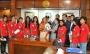 নারী ফুটবল দলের আরও ১১ জনকে পুরস্কার দিলেন প্রধানমন্ত্রী